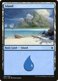 Island (265), Magic: The Gathering, Ixalan