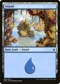 Island (266), Magic: The Gathering, Ixalan
