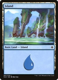 Island (267), Magic: The Gathering, Ixalan