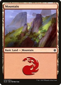Mountain (275), Magic: The Gathering, Ixalan