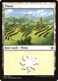 Plains (262), Magic, Ixalan