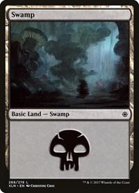 Swamp (268), Magic: The Gathering, Ixalan