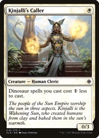 Kinjalli's Caller, Magic: The Gathering, Ixalan