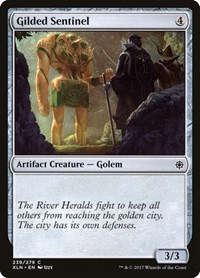 Gilded Sentinel, Magic: The Gathering, Ixalan