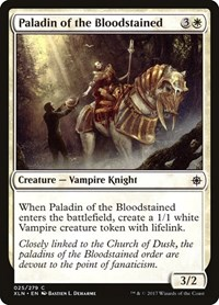 Paladin of the Bloodstained, Magic: The Gathering, Ixalan