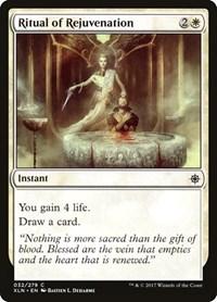 Ritual of Rejuvenation, Magic: The Gathering, Ixalan