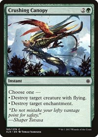 Crushing Canopy, Magic: The Gathering, Ixalan