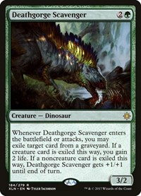 Deathgorge Scavenger, Magic: The Gathering, Ixalan