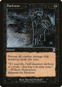 Darkness, Magic: The Gathering, Timeshifted