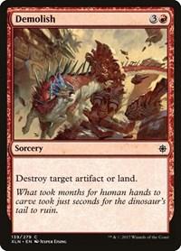 Demolish, Magic: The Gathering, Ixalan