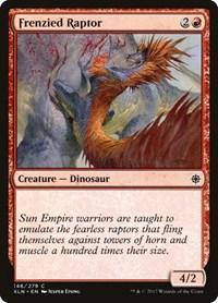 Frenzied Raptor, Magic: The Gathering, Ixalan