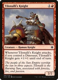 Tilonalli's Knight, Magic: The Gathering, Ixalan