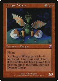 Dragon Whelp, Magic: The Gathering, Timeshifted