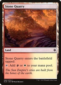 Stone Quarry, Magic: The Gathering, Ixalan