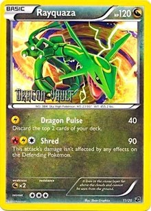 Rayquaza (Dragon Vault), Pokemon, Blister Exclusives