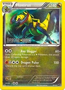 Haxorus (Dragon Vault), Pokemon, Blister Exclusives
