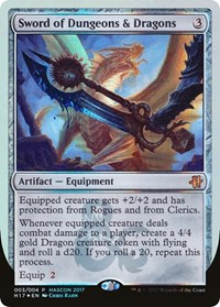 Sword of Dungeons & Dragons, Magic: The Gathering, Media Promos