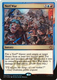 Nerf War, Magic: The Gathering, Media Promos