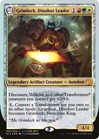 Grimlock, Dinobot Leader // Grimlock, Ferocious King