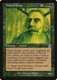 Gaea's Liege, Magic: The Gathering, Timeshifted