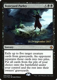 Boneyard Parley, Magic: The Gathering, Prerelease Cards