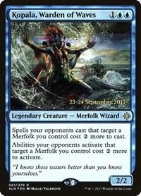 Kopala, Warden of Waves, Magic, Prerelease Cards