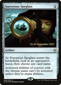Sorcerous Spyglass (XLN), Magic: The Gathering, Prerelease Cards
