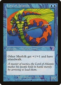 Lord of Atlantis, Magic: The Gathering, Timeshifted