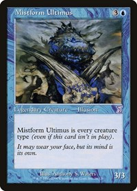 Mistform Ultimus, Magic: The Gathering, Timeshifted