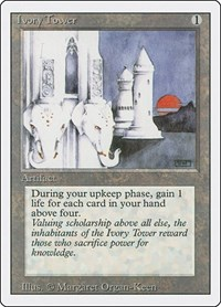 Ivory Tower, Magic: The Gathering, Revised Edition