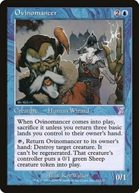 Ovinomancer, Magic: The Gathering, Timeshifted