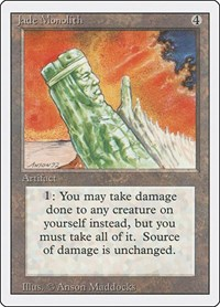 Jade Monolith, Magic, Revised Edition
