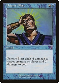 Psionic Blast, Magic: The Gathering, Timeshifted