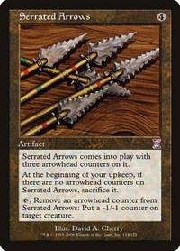 Serrated Arrows, Magic, Timeshifted