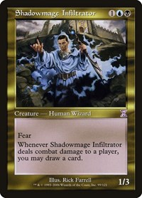 Shadowmage Infiltrator, Magic: The Gathering, Timeshifted