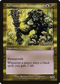 Sol'kanar the Swamp King, Magic, Timeshifted