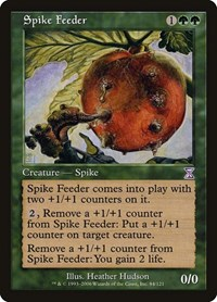 Spike Feeder, Magic: The Gathering, Timeshifted