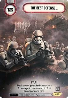Star Wars Destiny First Order TIE Fighter Promo Alt Art