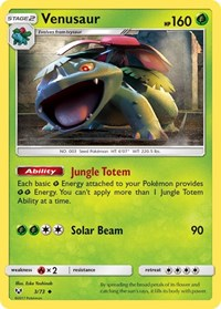 Venusaur, Pokemon, Shining Legends
