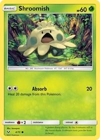 Shroomish, Pokemon, Shining Legends