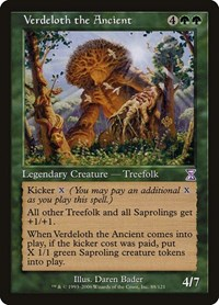 Verdeloth the Ancient, Magic: The Gathering, Timeshifted
