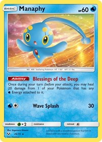 Manaphy, Pokemon, Shining Legends