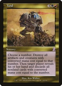 Void, Magic: The Gathering, Timeshifted