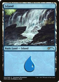 Island (Rebecca Guay), Magic: The Gathering, Standard Showdown Promos