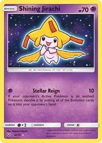Shining Jirachi, Pokemon, Shining Legends