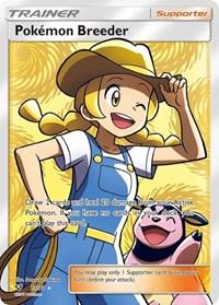 Pokemon Breeder (Full Art), Pokemon, Shining Legends