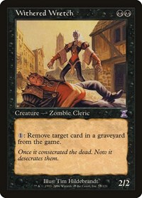 Withered Wretch, Magic: The Gathering, Timeshifted