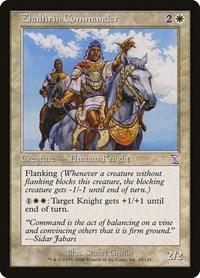 Zhalfirin Commander, Magic, Timeshifted