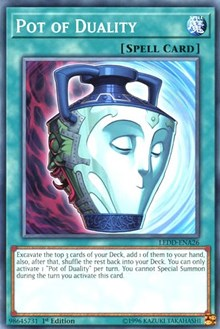 Pot of Duality, YuGiOh, Legendary Dragon Decks