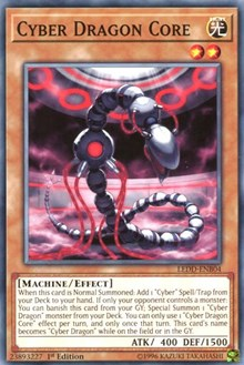 Cyber Dragon Core, YuGiOh, Legendary Dragon Decks